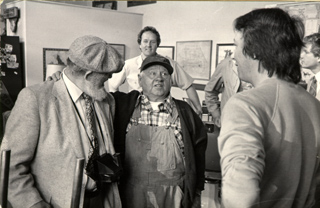 Mickey Rooney with Bill & Barry